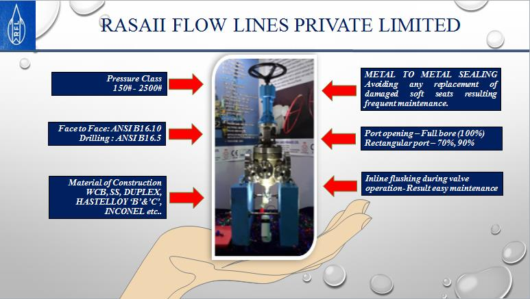 Rasaii Flow Lines have developed the Wedge plug valves to serve as good replacement of Metal seated Globe and Ball valves.  For further inquiries contact us admin@rflvalves.com For more information visit our website www.rflvalves.com