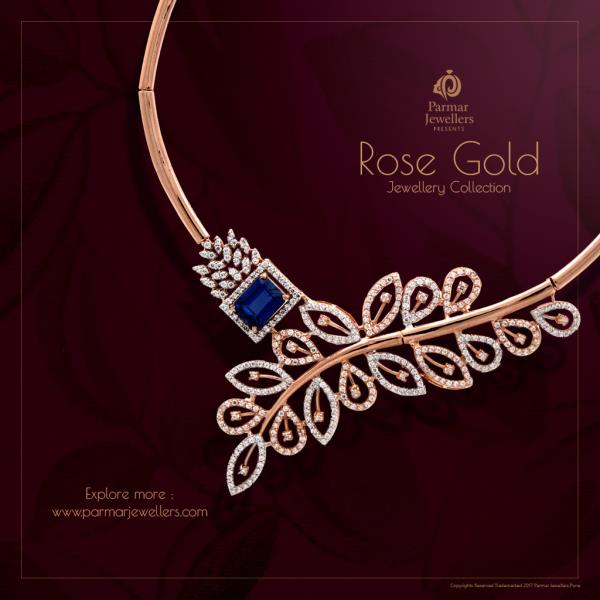 This season's most exquisite #rosegold Jewellery Collection from Parmar Jewellers. for more designs : http://parmarjewellers.com/new-arrivals Happy Shopping! #parmarjewellers #necklaces #onlineshopping #wedding