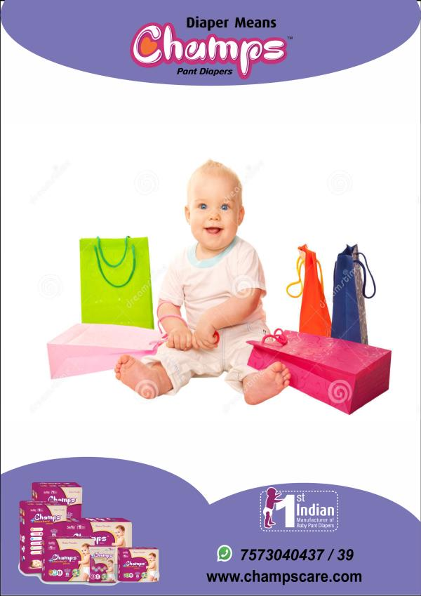 Champs Pant Diaper gives you huge discount for your little champ on   amazon.in Click below linkto buy the champs pant diaper: https://goo.gl/URFnbB   Buy from Flipkart Click here : https://www.flipkart.com/search?q=champs%20diaper& otracker=start& as-show=off& as=off  Buy from snapdeal clicl here : https://www.snapdeal.com/search?keyword=champ+diaper& santizedKeyword=& catId=& categoryId=0& suggested=true& vertical=p& noOfResults=20& clickSrc=suggested& lastKeyword=& prodCatId=& changeBackToAll=false& foundInAll=false& categoryIdSearched=& cityPageUrl=& categoryUrl=ALL& url=& utmContent=& dealDetail=  Buy from Paytm click here: https://paytm.com/shop/search?q=champs%20diaper& from=recentSearch& child_site_id=1& site_id=1  For Exports / OEM / Bulk trade inquiry Please feel free to contact via   E-mail: wecare@safilocare.com  Contact: 08079444679  Whatsapp: +91 7573040437 / 39     Keywords: Diapers| pant diapers| champs diapers| OEM inquiry| Exports inquiry | Distributors| Delears| Maharashtra | Diapers in Maharashtra| distributors in Maharashtra|