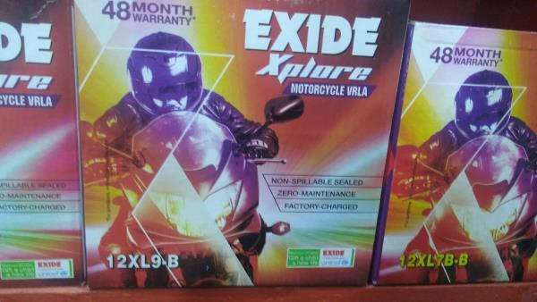 Authorized Exide dea