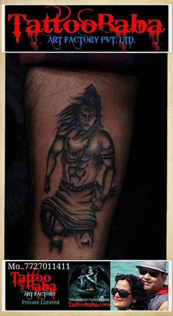 Shiva and related tattoos recently done at Tattoobaba ..... Shiva Tattoos Tattoo in Jaipur Best tattoo studio Religious Tattoos Tattoo in India Call - 7727011411