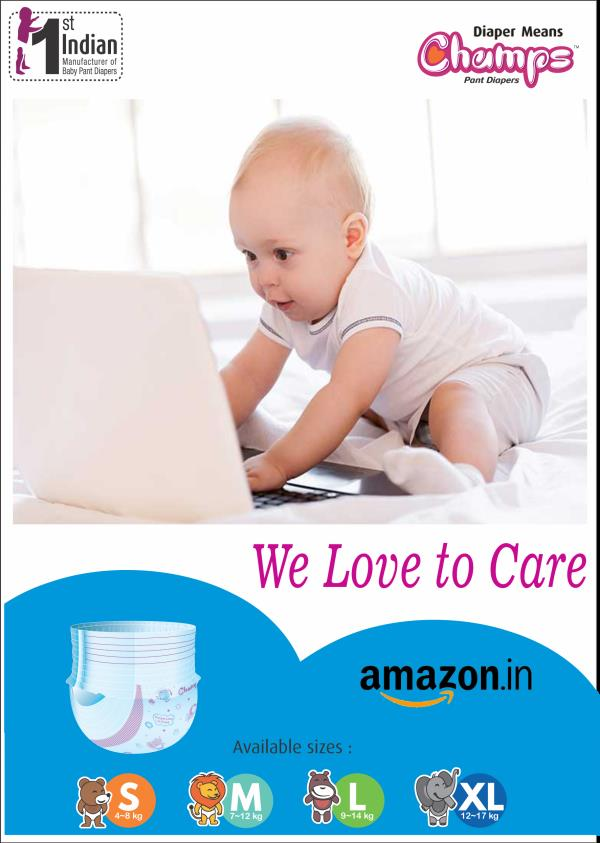 Amazing Discount @ Amazing Online Stores  Hurry!!!!  Buy Champs Diapers from Amazon.in  Click the link below:  https://goo.gl/URFnbB  For more Inquiry please feel free to contact via  E-mail: wecare@safilocare.com Mobile: 08079444679 Whatsapp: +91 7573040437 / 39  Diapers| champs Diapers| baby daipers| pant style diapers| OEM inquiry | Export inquiry | Distributors | dealers| west bengal | diapers in west bengal| distributors in west bengal|
