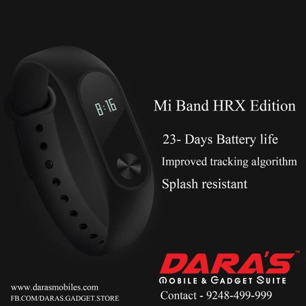 #Mi_Band #HRX  Edition is