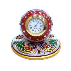 This beautiful clock is designed in a style that compliments your home decor. Its luxury style theme with Cobblestone Surface that is perfect for any home decoration. It is made with the highest quality materials to make the clock strong enough for long term use.