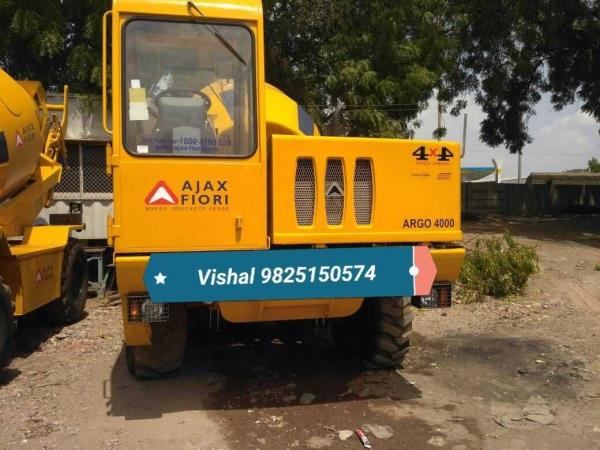 Ajax fiori on rent. Ajax fiori (self loading transit mixture available) available on rent/hire.  Contact us for best rental rates.  Vishal Thakkar  +91 9825150574  Www.vishalroadlines.co.in