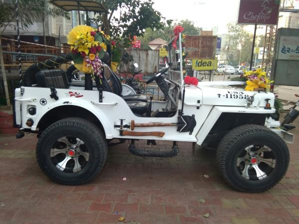 Jeep on rent in ahmedabad