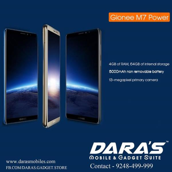 #Gionee_M7 Power New Model Available at DARAS