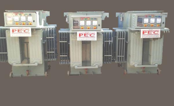 Automatic voltage regulator  Power Engineers Company is a renowned manufacturer of rolling contact type automatic voltage regulator in Vadodara Gujarat, India. We are using LINER TYPE REGULATOR WITH ROLLING CONTACT CARBON ROLLERS. Provide an UNCONDITIONAL FIVE YEAR GUARANTEE for all the equipment.  We are a leading supplier of #automatic-voltage-regulator in #Rajkot, India.