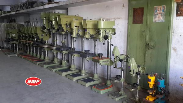 """HMP : Heena Machine Products   Full Range of HMP Drill Machines... 6 mm (1/4"""") Capacity to 40 mm (1.5"""") Capacity   #www.hmpdrills.com #drilling machinery  #drill machine #mini drilling machine #pillar drilling machine #radial drilling machi - by Heena Machine Products , Rajkot"""