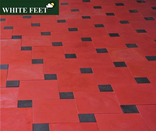 WHITE FEET - Car Parking Tiles Manufacturers in Chennai, Pavement Tiles Manufacturer in chennai Exterior Tiles Manufacturer in  Chennai , Concrete Tiles Manufacturer in Chennai