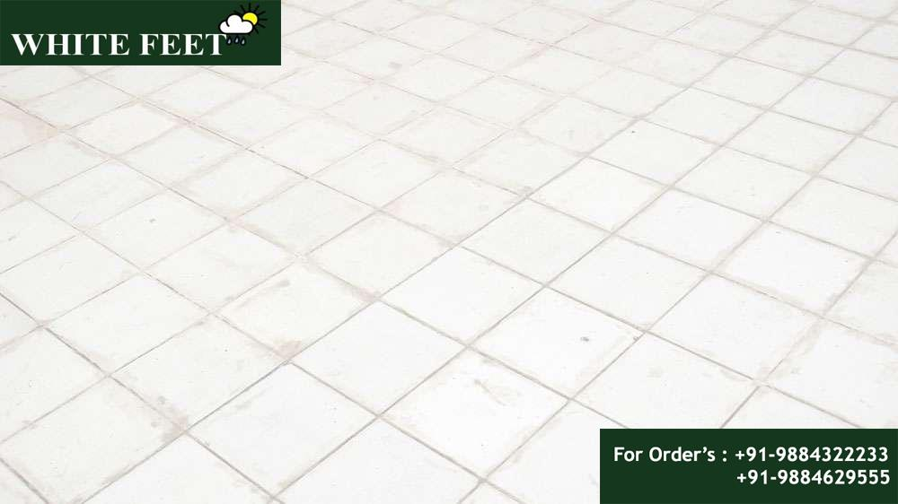 WHITE FEET - NON-CERAMIC ROOF TILES, WATER PROOF TILES, HI COOL ROOF TILES, CLAY ROOF TILES, Heat Resistant Tiles in Chennai, White Tile Manufacturer in Chennai, Cool Roof Tile manufacturers in Chennai, White Tile Manufacturers,