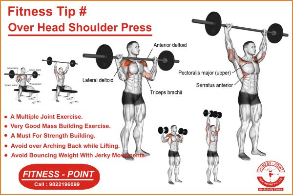 Head Shoulder Press Fitness Point In Nashik India