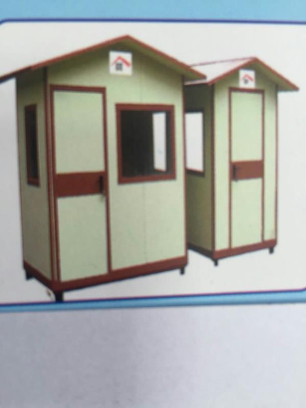 Porta cabin using   high density cement  fiber  boards