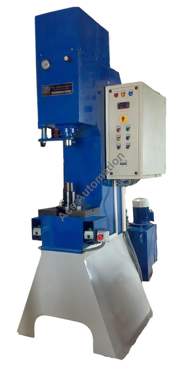 ton c frame press supplier : ACE AUTOMATION in Coimbatore, India
