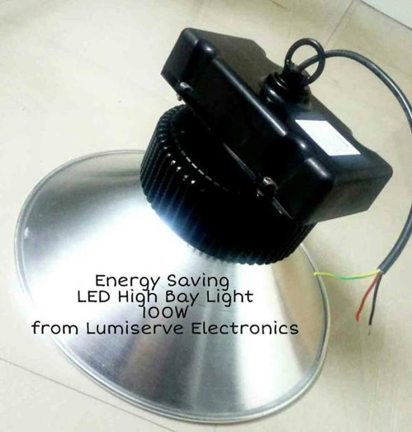 This Energy Saving 100W LED High Bay Light from Lumiserve Electronics replaces existing 250W Metal Halide High Bay Light and gives significantly higher light levels!  Energy Savings with Enhanced Light levels !  Contact us for free demo / trial ! For more info visit us at http://lumiserveled.com/bizFloat/5a31f6a9064b940a4cb019b1/This-Energy-Saving-100W-LED-High-Bay-Light-from-Lumiserve-Electronics-replaces-existing-250W-Metal-Halide-High-Bay-Light-and-gives-significantly-higher-light-levels-Energy-Savings-with-Enhanced-Light-levels-Conta
