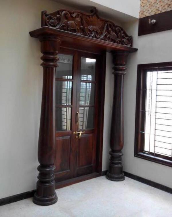 Rosewood Doors will be done We take orders for doors such as Pooja doors Main & pooja doors : Sairay Rosewood Emporium in Bangalore Urban India