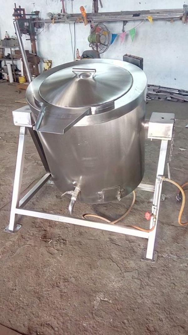 SS Triple Jacket Rice Cooking Vessel For more info visit us at http://smartkitchenequipment.com/bizFloat/59f03aa93d5f430bc4f862e6/SS-Triple-Jacket-Rice-Cooking-Vessel