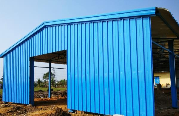 Completed shed in nunna