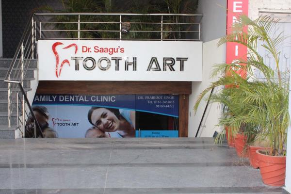 Best Dental Clinic in Ludhiana  Dr. Saagu Tooth Art with its expert of best dentist in Ludhiana, Mohali and Patiala, Punjab provide the best dental clinic experience to its patients. Dr. Saagu Tooth Art Top Dental Clinic in Ludhiana, Punjab has the best Dentist in Ludhiana Punjab, committed to provide expert care for your family. Now families looking for a Dental Clinic close to their home can come to Dr. Saagu Tooth Art. Our clinic in Ludhiana, have the best facilities and Dentists. Dr. Saagu Tooth Art – amongs the top dental clinic in Ludhiana, Punjab with advanced dental care.