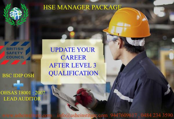 International Diploma In Occupational Safety Health IDip OSH Level 6 Training ASHEI