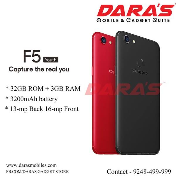 #Oppo_F5 Now Available at DARAS