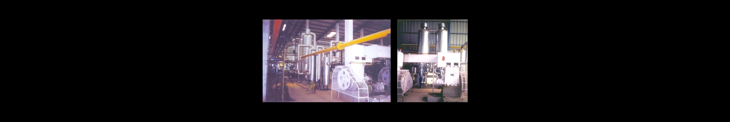 Nitrogen Gas Plant Manufacturer Sanghi Oversese is Leading Manufacturers of Oxygen, Nitrogen and Other Industrial Gas Plants. Nitrogen Plant, is safe and economical to operate. It comes with an efficient expansion engine, which lowers the operating pressures remarkably to as low as 32-35 kg/cm2 and also cuts down power consumption. A Molecular sieve Battery drier unit for separation of moisture and carbon dioxide is another money-saving device in the SANGHI-ORG plant. It removes acetylene and other hydro-carbons from the process air, thus eliminating the need for separate acetylene absorbers, and moreover it eliminates recurring caustic soda costs. The SANGHI-ORG Nitrogen Plant is capable of simultaneously producing high purity nitrogen Gas. It also has internal compression Liquid nitrogen Pump to fill dry gaseous oxygen in cylinders. We also undertake supervision of Installation and Commissioning of the SANGHI-ORG Nitrogen Plant. About 100 CU.M./Hr of Nitrogen will be used for regeneration of driers for SANGHI-ORG 80. * About 150 CU.M./Hr of Nitrogen will be used for regeneration of driers for SANGHI-ORG 100. * About 300 CU.M./Hr of Nitrogen will be used for regeneration of driers for SANGHI-ORG 200. The above product capacities are based on ambient conditions of 15oC temperature 760mm of Hg pressure and 50% relative humidity and 0.03% of Carbon Di-oxide is allowed as impurity.