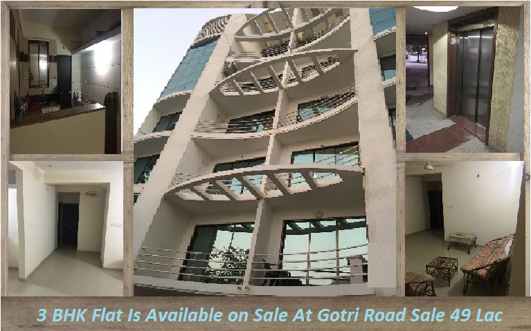 3 BHK Residential Flat is