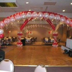 Stage Decoration Services  We are one of the highly acclaimed companies that offer an extensive range of Stage Decoration Services. These services are done on time as per the needs and demands of our clients. Beautiful decoration of the stage is done with different decorative items. New ideas and creative thoughts are taken into consideration while offering these services.     Features:     Flexibility Longer service life High performance Consistent performance