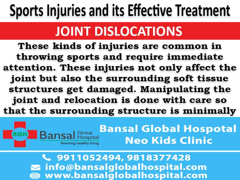 Sports Injuries and its Effective Treatment  Bansal Global Hospital Read More : https://bansalglobalhospital.com/sports-injuries-effective-treatment/