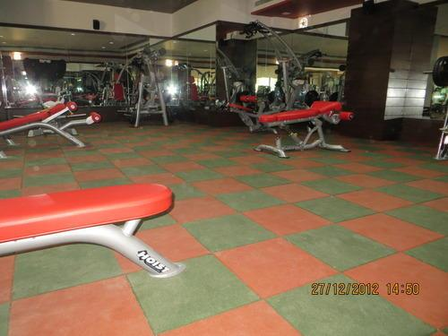 Gym Flooring  We Sundek Sports Systems are manufacturers of Gym Flooring in Mumbai.  As well as in India. Product Details: Available Services Installation Service Location Type Residential Building, Corporate Building, Commercial Building, Educational Institute, Health Care Centre . Service Location/City India . Provide AMC No Other Flooring Services Wooden Flooring, Rubber, Vinyl and Carpet Flooring No. of Year in Business 7 Years Sundek Sports Systems, offer our customers a wide range of Gym Flooring, which is manufactured from high-grade quality raw materials. These Gym Floorings are available at market leading price. These Gym Floorings are widely considered for its durability and quality. Gym Flooring is available in the following materials: Rubber Tiles Gym Flooring Wooden Gym Flooring PVC Vinyl Gym Flooring .