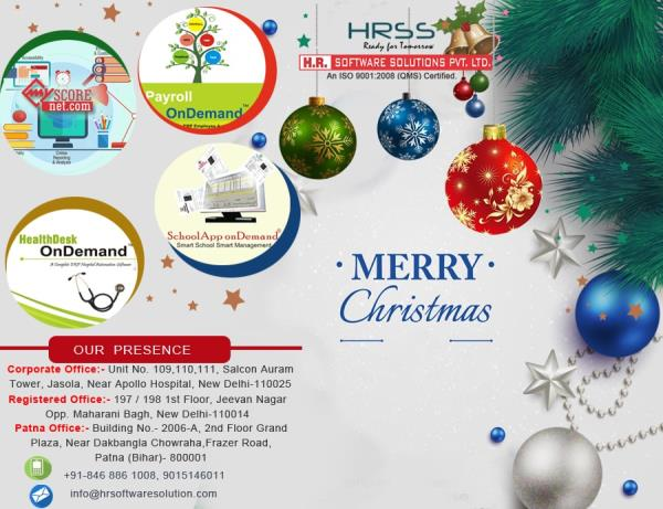 Merry Christmas ......From HR.Software Solutions Pvt.Ltd.