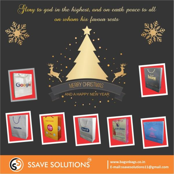 We are the leading manufacturers of carry bags & packaging solutions. We wish all our clients a Merry Christmas.