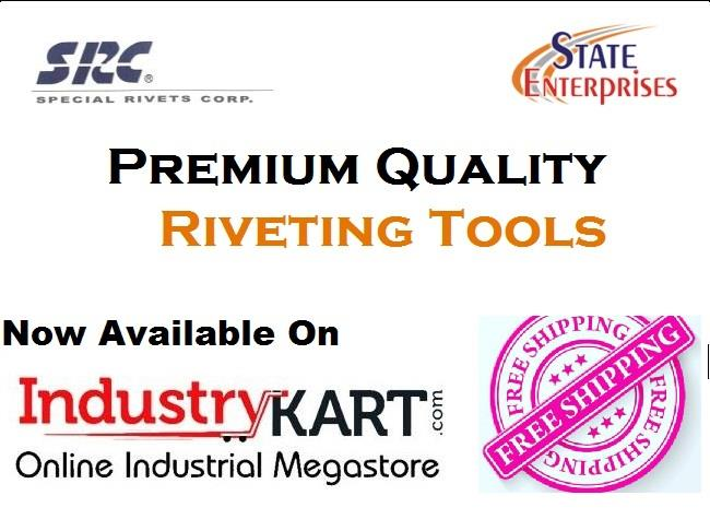 Branded Riveting tools are now just a click away!  Enjoy The hassle free experience of online shopping for Tools @ Industrykart.com  Link - http://bit.ly/2BDcUPh    src, rivet tools, riveting machine, buy rivet gun online, buy tools online, online  shopping, ecommerce, pneumatic tool