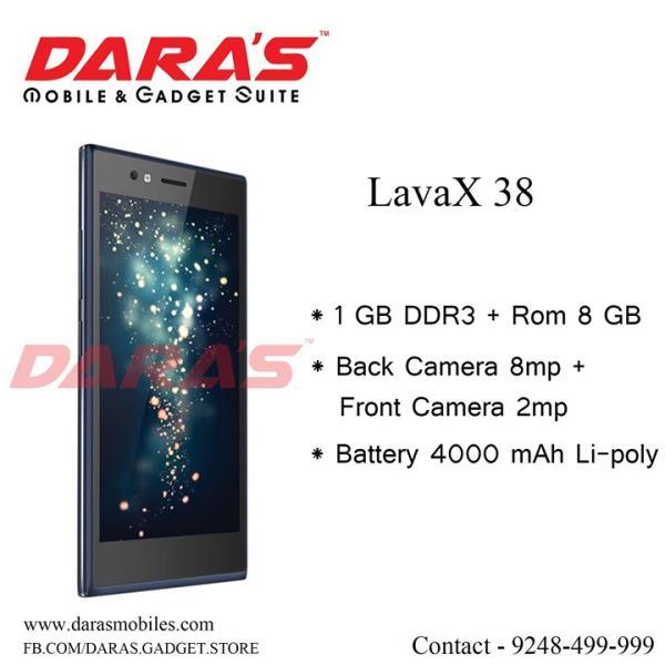 #Lava_X_38 Mobile #Battery 4000_mah at DARAS