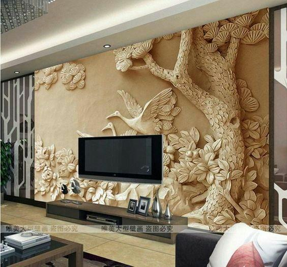 3D Wall Mural Wallpapers Abstract Wallpapers Wallskin Interiors