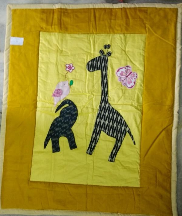 Comfortable And Soft Designer Baby Quilt Nursery Design Beautiful Elephant Presenting Bunch Of