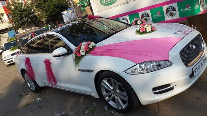 Jaguar Car Rent In Hyderabad For Wedding Cars Also Available In Hyderabad,  Telangana.