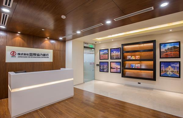 Team Aakriti Successfully delivered Office for Japan Bank for International Corporation at Worldmark-2 Aerocity Delhi.