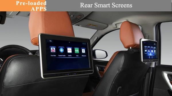 Rear seat entertainment for honda, audi, bmw, mercedes, tata, range rover, maruti, renault, nissan, Ford and all other cars @Motominds