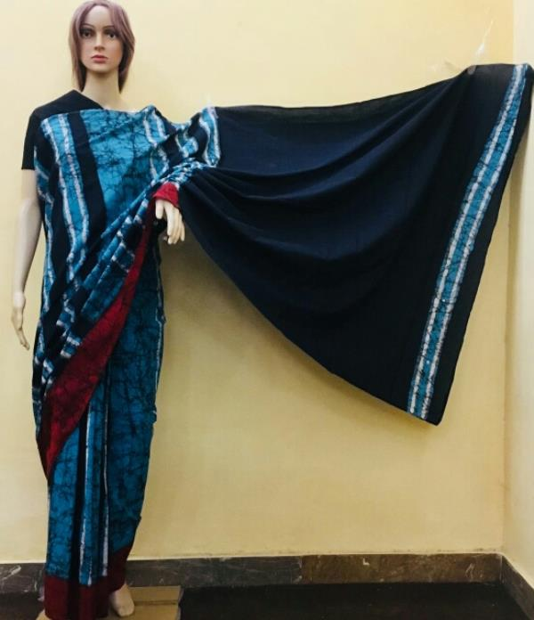 Batic Printed saree with