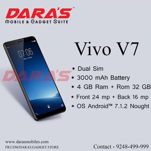 Buy #Vivo_V7 with 3000 Ma