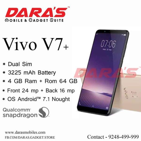 #Vivo_V7+ 3225 Mah Batter