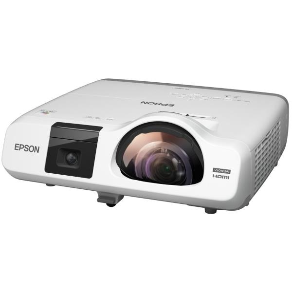 Interactive projector from Epson for Digital Classrooms.  Epson EB 536wi is a HD Interactive projector.  3400 lumens color and white brightness,  1280 x 800 pixels HD resolution,  16000:1 contrast ratio,  16W built in speaker,  Short Throw!!!  E learning projector at it's finest. Call Viewtech Hyderabad, the Authorized Epson Projector Dealers for more details.