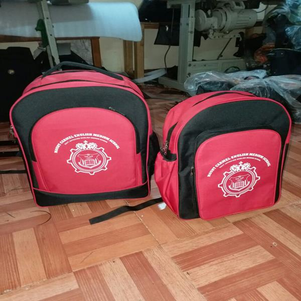 Customised school bag  we are bag manufacturer. We are making good quality of bag with good material.  Infinit and Pacsun is our brand.