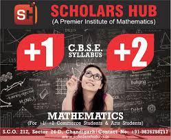 Scholars Hub is a professional coaching institute in Chandigarh for 8th 9th 10th Maths and Science. 11th Medical, Non-Medical and Commerce Coaching is provided at Scholars Hub by highly qualified and experienced faculty in Chandigarh.