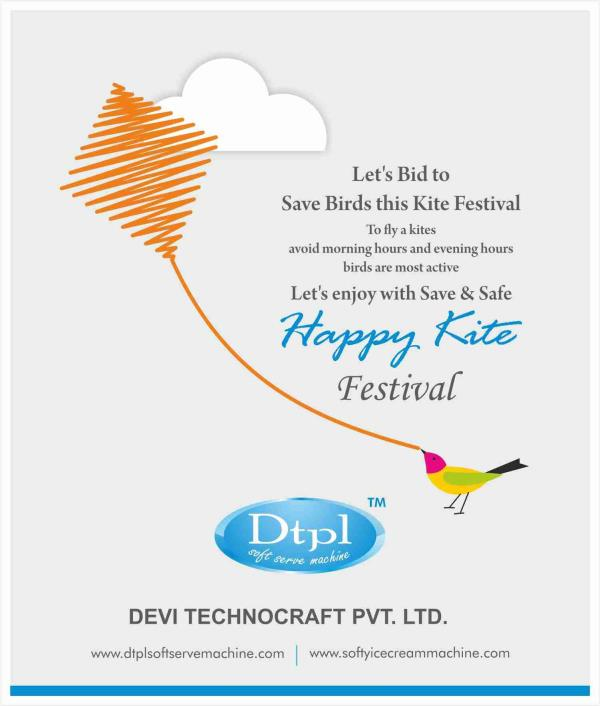 Dtpl leading softy ice cream machine manufacturer wishing you Happy Makarshankranti & Lohri