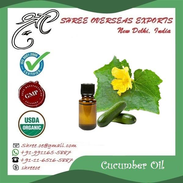 Organic Cucumber Oil in U