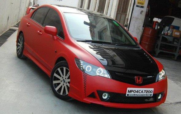 Honda civic modified
