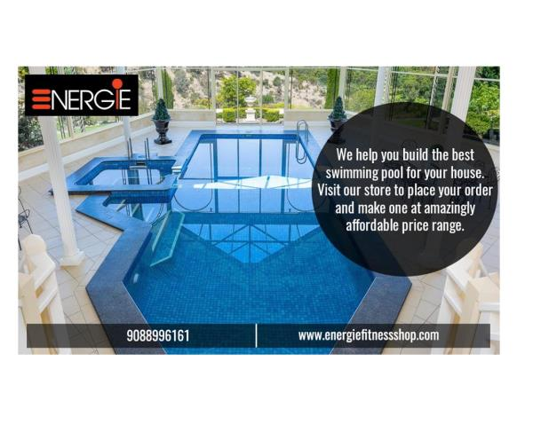 Install a swimming pool for your schools, colleges, clubs, residential complexes and clubs in kolkata from Energie Fitness