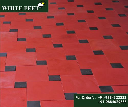 car parking tiles manufacturer in chennai  WHITE FEET - Designer tiles in chennai,  designer tiles manufacturer in chennai, designer tiles price in chennai, floor tiles price in chennai, floor tiles in chennai, floor tiles manufacturer in chennai, concrete tiles manufacturer in chennai , non ceramic tiles in chennai, best quality tiles manufacturer in chennai.